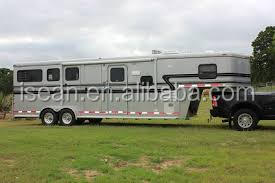 3horse and 4 horse gooseneck trailer with living room