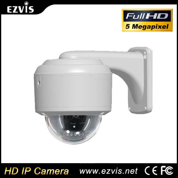 2015 new product Mobile viewing 4K IP camera extended base for cable