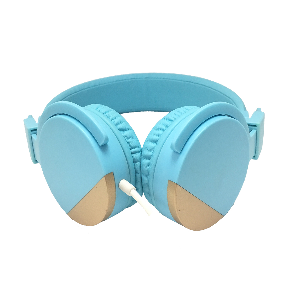 professional OEM custom logo headphone wired headset for Christmas promotional gift
