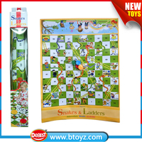 Enlightenment Toy PP Snake And Ladder Board Game for Kids