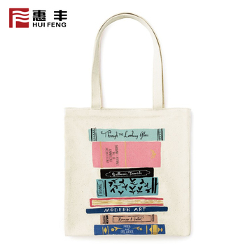 Laminated Polypropylene Foldable Zipper Tote Bag Cotton Custom Printed