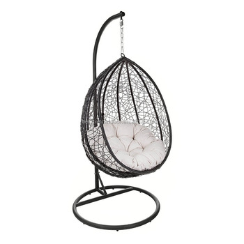 Amazing Outdoor Patio Hanging Chair Indoor Egg Swing Chair With Stand Buy Leisure And Patio Rattan Porch Furniture Chair Modern Garden And Indoor Frankydiablos Diy Chair Ideas Frankydiabloscom