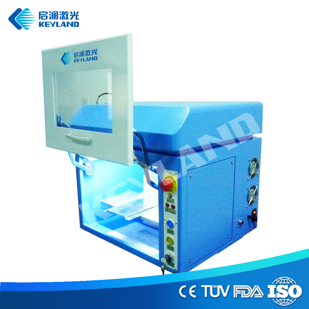 China Keyland Barcode 2D Engraving Laser Machine For Sale