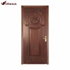 Indian Ancient Black And Brown Carved Solid Wood Banding Entry Doors For Living room
