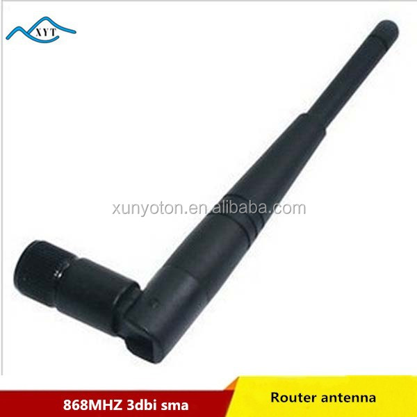 Factory price Best selling product long range external 3dbi 868MHZ indoor omni directional antenna SMA