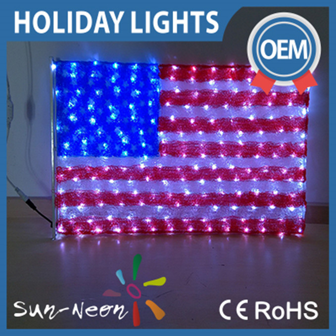America Flag Led Light Suppliers Manufacturers Alibaba American Christmas Lights