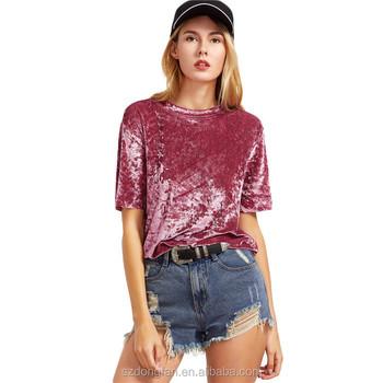742165f3f489d Última moda para mujer de la ropa blusas 2016 nuevos diseños caída de  hombro de tela