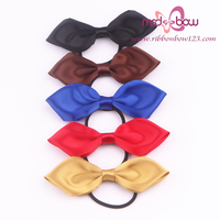 pre-tie satin ribbon bow delicate bow tie for perfume bottle