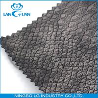 snake skin PU bag python leather fabric