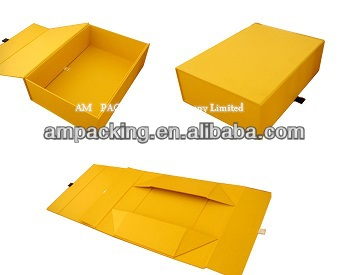 Professional Supplier Manufacture recycled magnetic closure cardboard apparel gift box