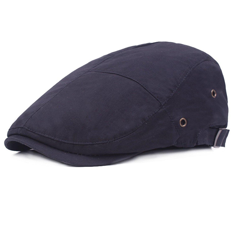 Get Quotations · XRDSS Men Flat Cap Gatsby Driving IVY Golf Beret Hat  newsboy Cap 1b710ed4676b