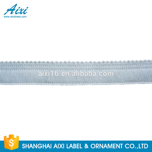 Elastic Alibaba design eyelash beautiful small trim lace for wedding dress garment