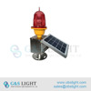 Low Intensity Solar Powered Obstruction Light/building aviation warning light