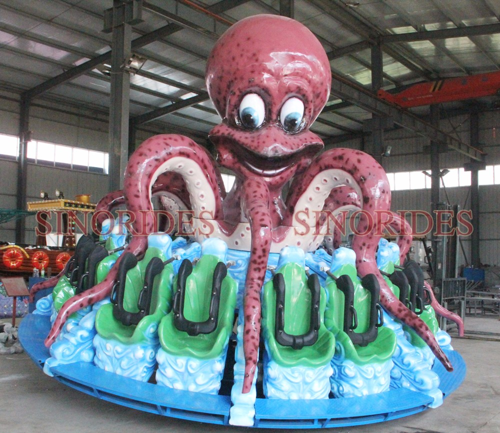 crazy turntable games china supplier octopus express mini kids