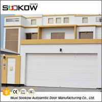 Cheap price steel folding door garage gates