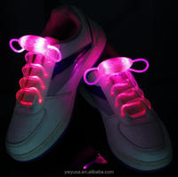 Popular Men Women Light Up LED Shoelaces Party Glowing Night
