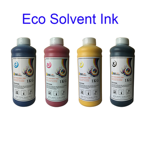 Factory direct price digital inkjet printer outdoor oiled based printhead use eco solvent ink