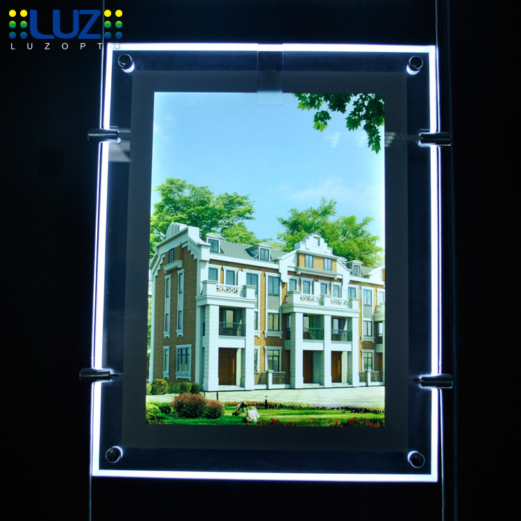 led panel a3, window display props,fixing kit estate agent