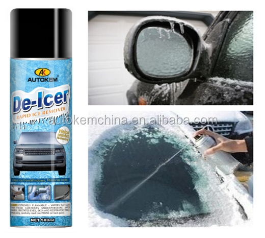 car care De icer, Ice remover spray for car windows,mirrors and locks