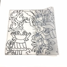 Custom Mark Mat Silicone Coloring Placemat Drawing Mat For Kids