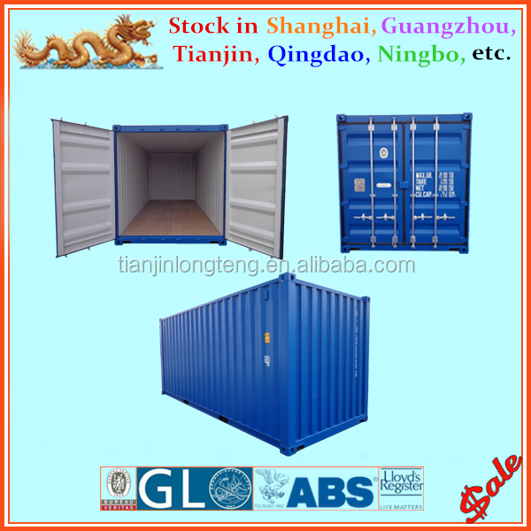 Dry cargo container type non - used shipping container price 20ft 40ft