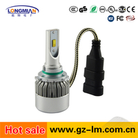 High quality 9005 9006 car led headlight bulbs 36W h4 12V led head lamp