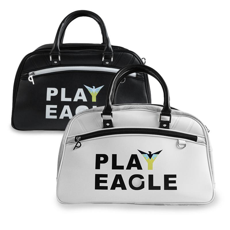 Túi Golf Duffel Trắng Đen Màu PLAYEGALE Túi golf bằng da PU chất lượng cao