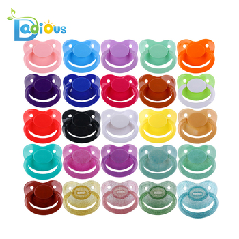 2018 ABDL Wholesale ABDL Pacifier BPA Free 26 Colors of Silicone Soother Adult Pacifier Dummy