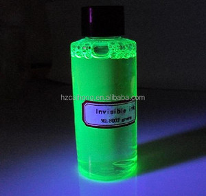 UV invisible ink ,only can be read under UV black light& uv ink CH-8002