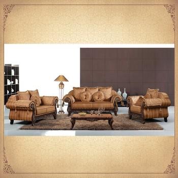 Foshan Golden Supplier Nice Designs Antique Living Sofas 3+2+1 Top ...