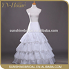 Hot Sale Women Wedding Dress crinoline petticoat pattern
