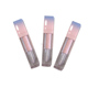2017 beautiful empty pink gold liquid lipstick tube / lip balm container / plastic tube with brush applicator