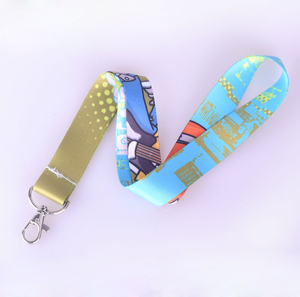 Lanyard manufacturer accept all kind of id card holder lanyard custom