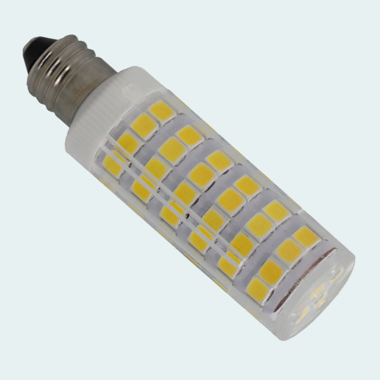 Clear Cover 120 V E12 E11 Dimmable Jagung Bulb Lampu 9 W Dimmable E12