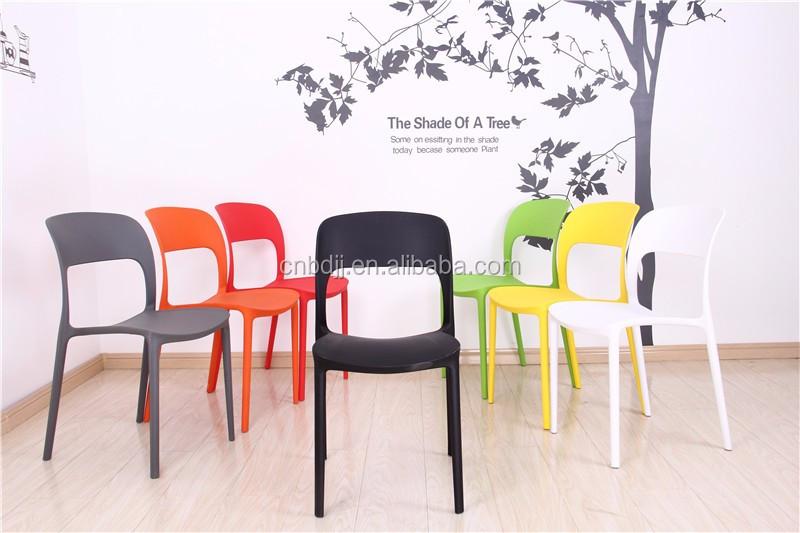 European Outdoor Furniture 2016 Modern Plastic Dining Chair Buy European Ou