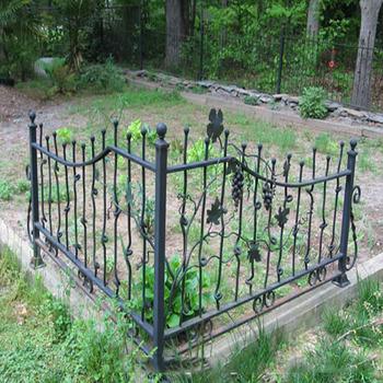 Flat Bar Fences Fire Proof Composite Fence Soccer Field