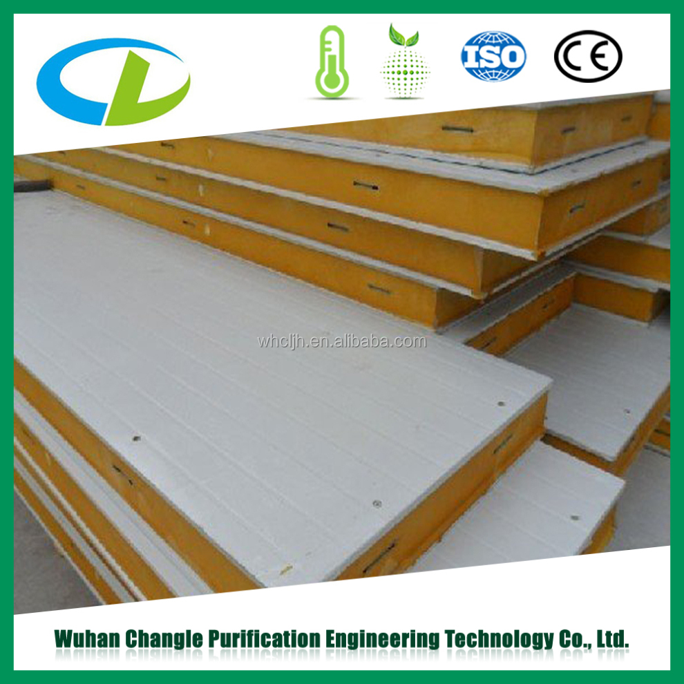 Top quality insulated PU panel of FOB Shanghai