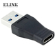 USB 3.1 Type C Female to USB 3.0 A Male Data Adapter for Macbook Tablet Mobile Phone