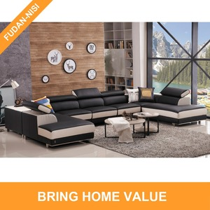 New sofa design used sectional sofa couch with music audio system and sliding seat