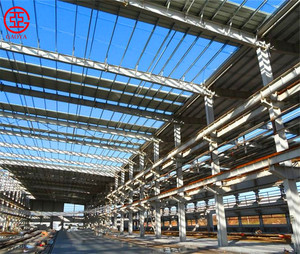 Low cost high quality quickly build prefabricated light steel structure warehouse