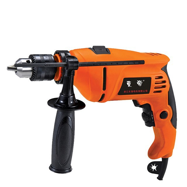 China High Quality 13mm 650W Two Hand Electric <strong>Drill</strong> Hammer 110V/220V 50Hz Household Impact <strong>Drill</strong> HD0860