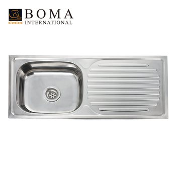 Stainless Steel Kitchen Sink Wash Basin - Buy Stainless Steel ...