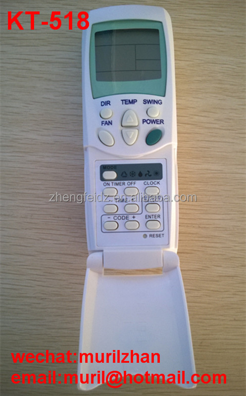 Zf White 9 Keys Wh-ra03ej 43066054 Air Conditioner Remote Control ...