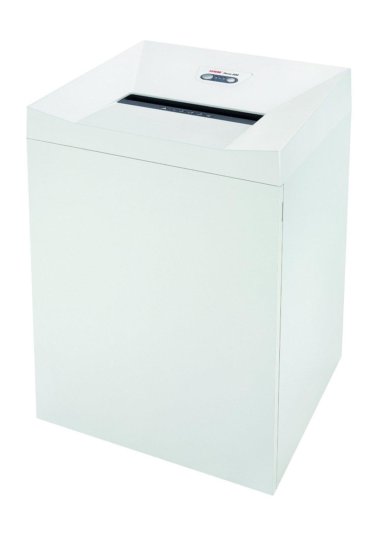 HSM Pure 630 Strip-Cut Shredder; shreds up to 42 sheets; 34.3-gallon capacity