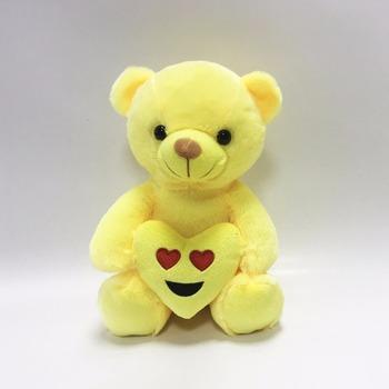 wholesale 25cm plush kids teddy bear emoji doll buy emoji doll