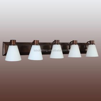 Ee. Uu. Estilo 5-luz Lámparas De Pared Para Cuarto De Baño De Luz ...