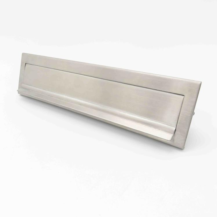 Stainless-steel letter plate
