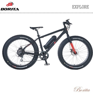 "Borita EXpolre 26"" Rear Motor Suspension Fork Electric Bike"