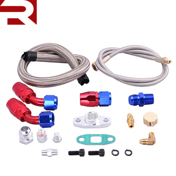 T3/t4 Turbo Parts Oil Feed Line Gt32 Gt40 Gt42 Gt4294r Gt4202r Oil Return  Drain Turbo Kits - Buy Turbo Parts,Universal Turbo Kit,Turbo Kit Product on