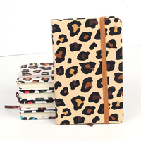Fashion printing pattern high quality custom cardboard notebook for school supplies
